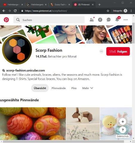 Scorp-Fashion Pinterest